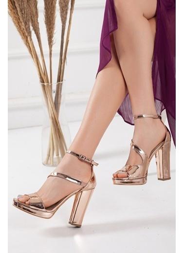 Dilimler Ayakkabı Ayakkabı Pembe